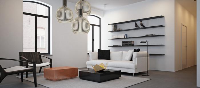 Immokantoor gent moyabell for Design appartement gent