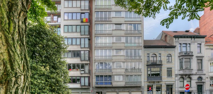 2 slaapkamer appartement met prachtig uitzicht op het zuidpark te Gent