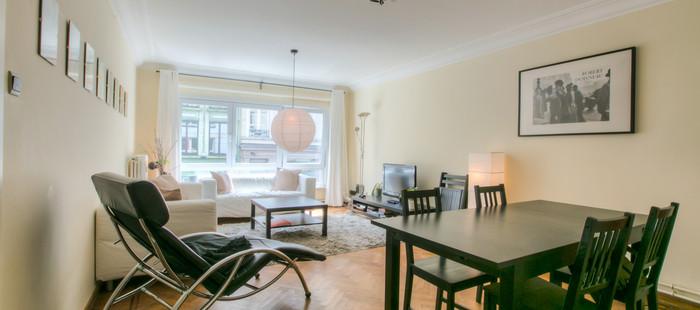 Ruim 2 slpk appartement van 105 m2 op wandelafstand van de Kouter.