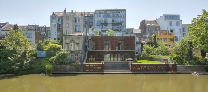 Exclusief appartement met zicht op het water en de Bijlokesite