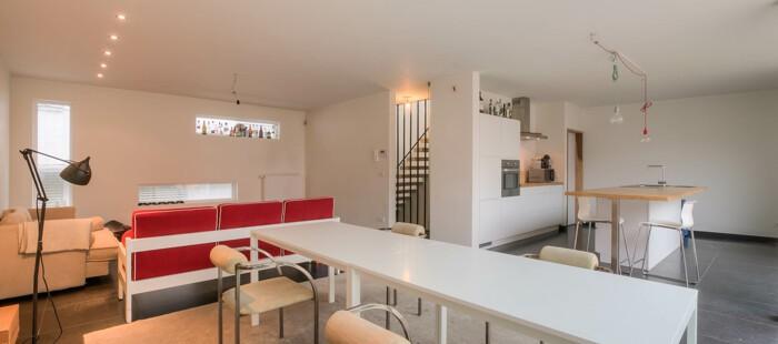 Nieuwbouwwoning in de kuip van Gent