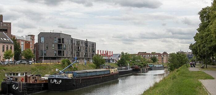 Waterfront moderne woning in Gent