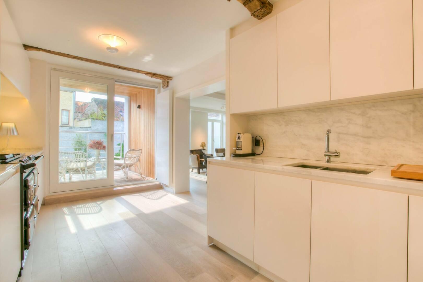 Exclusief appartement met terras in de kuip van Gent.