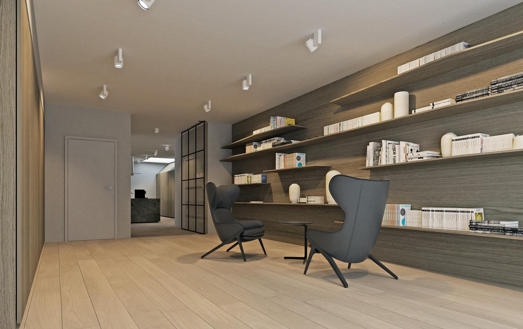 VERKOCHT !   Exclusief appartement van 210 m2 gelegen in de kuip van Gent