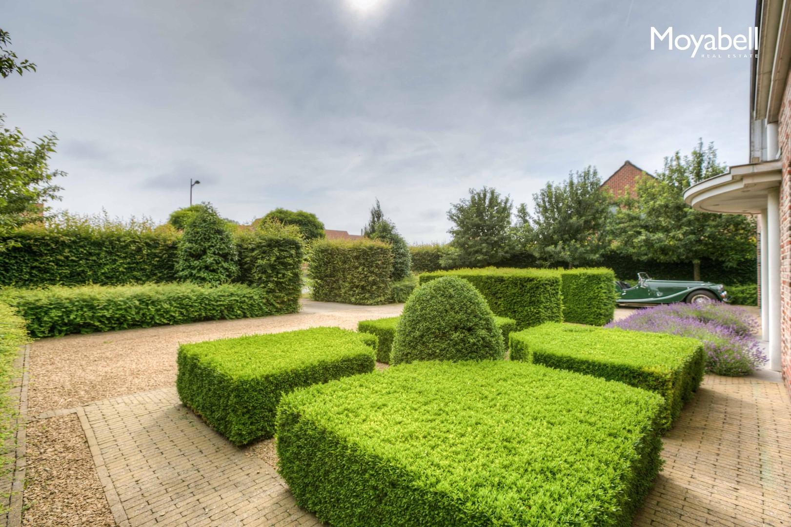 "Stijlvolle hedendaagse villa met zwembad in groene omgeving middenin het ""krekengebied""."