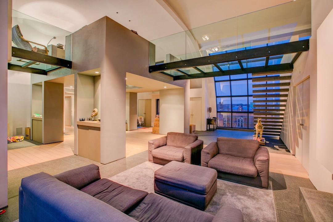 Avant-Garde Penthouse van 425 m2 in centrum Gent