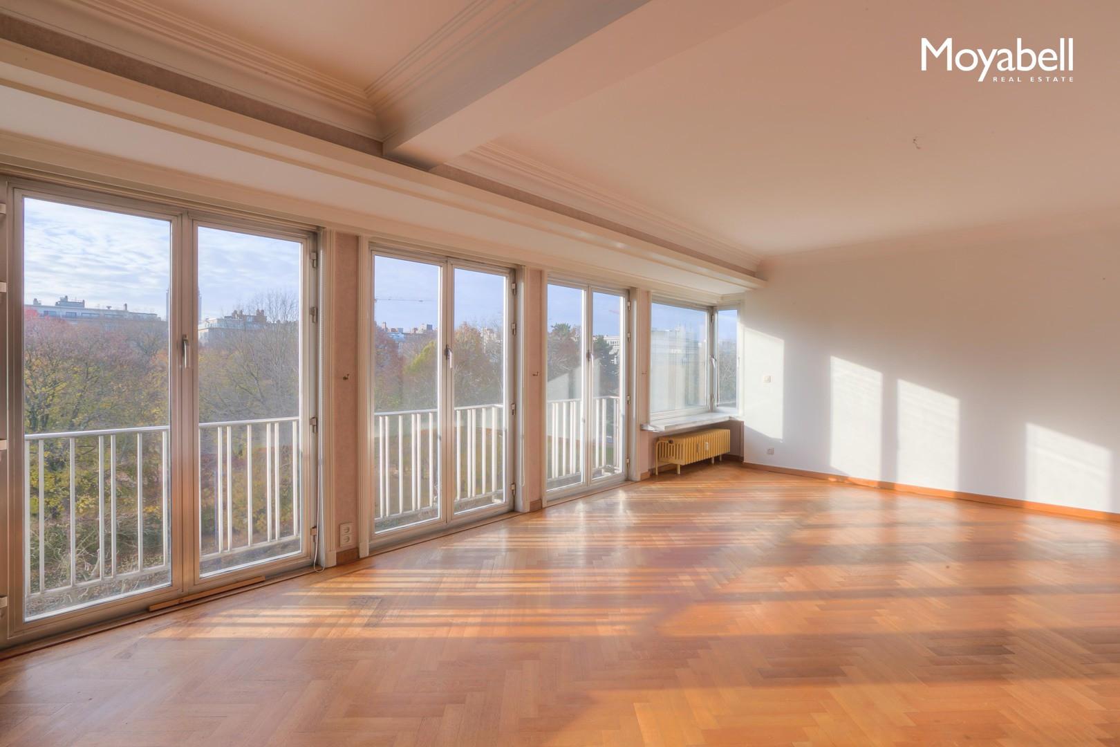 4 slaapkamer appartement met terras en panoramisch uitzicht op het Zuidpark