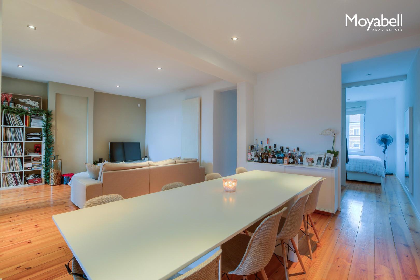 Modern en lichtrijk appartement in centrum Gent