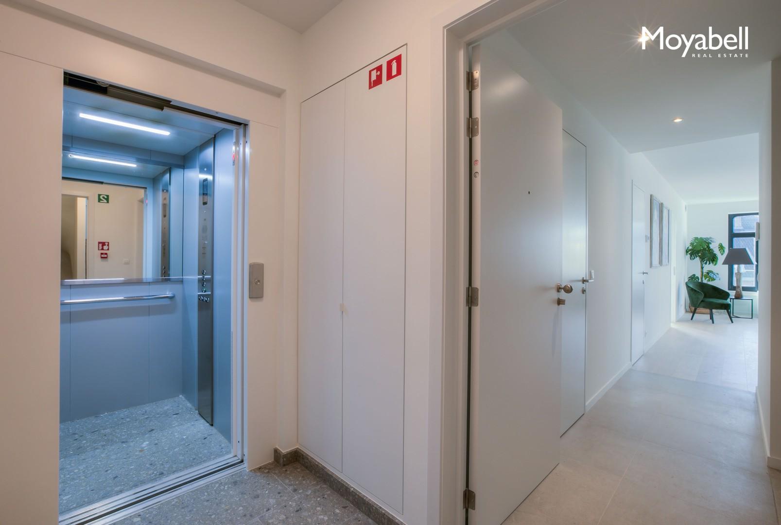 Exclusief nieuwbouw appartement in het historisch centrum van Gent